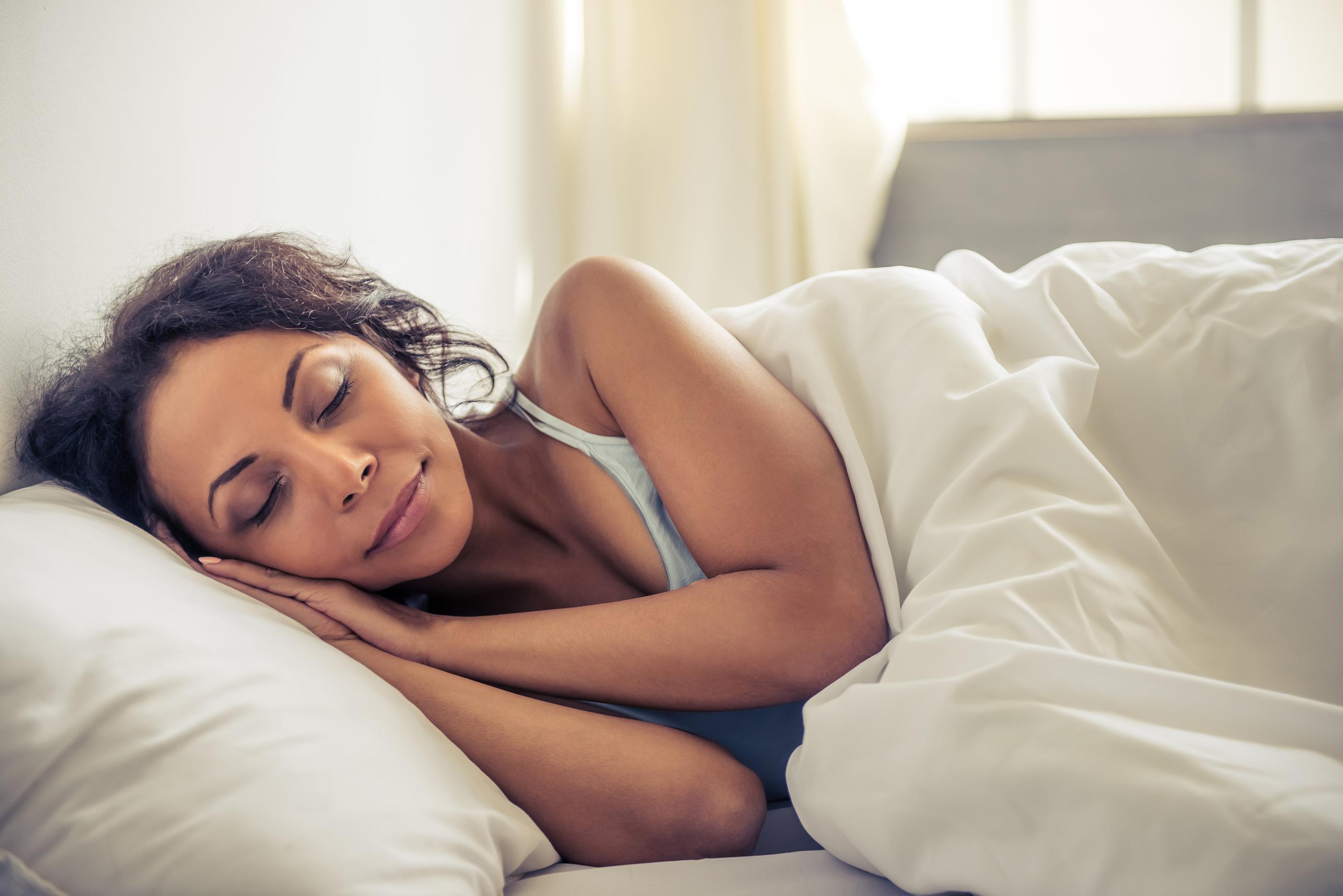 She said – I Went Right to Sleep
